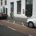 Gehandicapten parkeerplaats woning