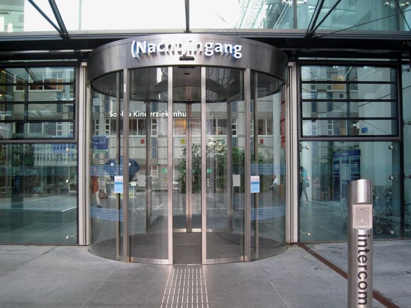 entree openbaar gebouw