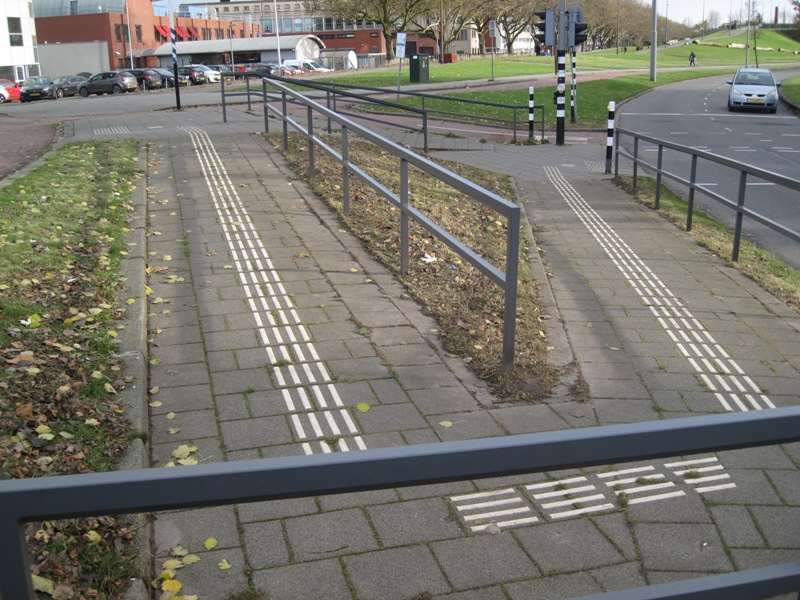 helling voor rolstoelgebruikers