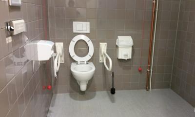 toegankelijk toilet