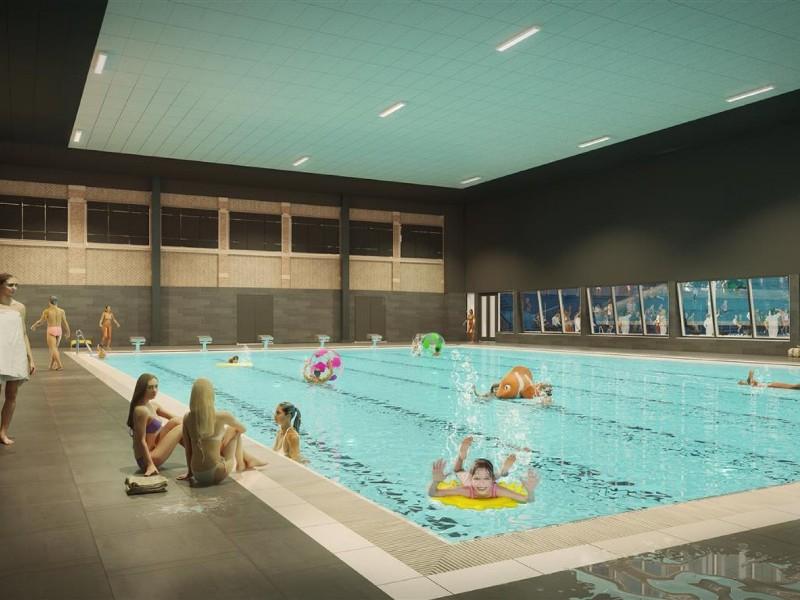 zwemcentrum Rotterdam binnenkant